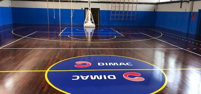 The parquet of Liceo Cafiero di Barletta returns to shine thanks to Dimac