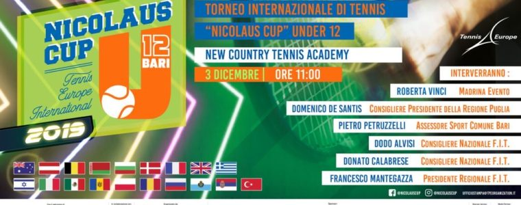 Dimac Partner of the Nicolaus Cup 2019 of Tennis