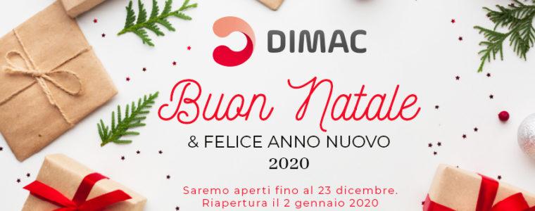 Auguri di Buone Feste – Aperti fino al 23 dicembre. Riapertura il 2 gennaio 2020